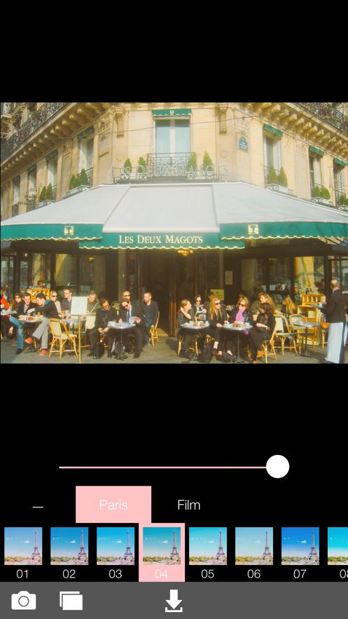 Analog Paris App 截图