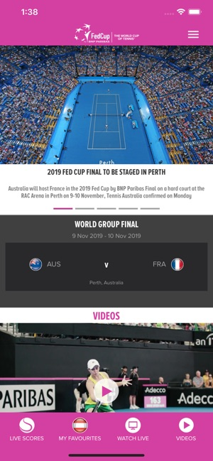 Fed Cup on the App Store