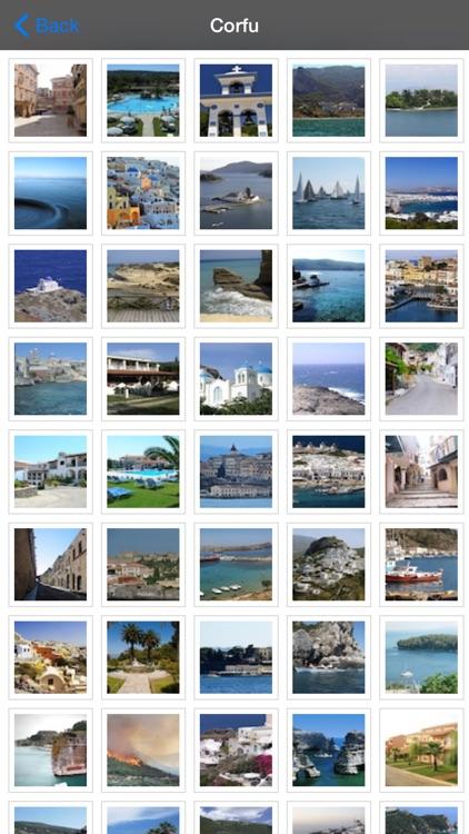 Corfu Island Offline Map Guide screenshot-4