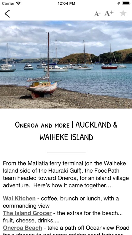 New Zealand Food Trail Guide screenshot-7