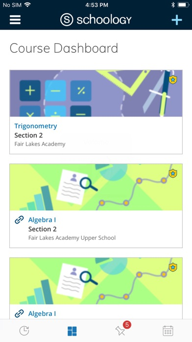 Screenshot for Schoology in United States App Store
