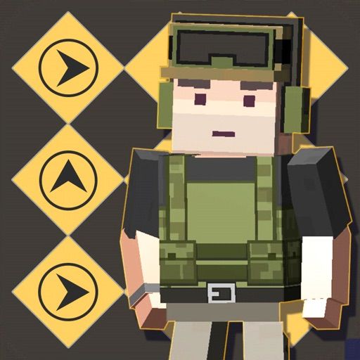 Pixel 3D - Soldier Games