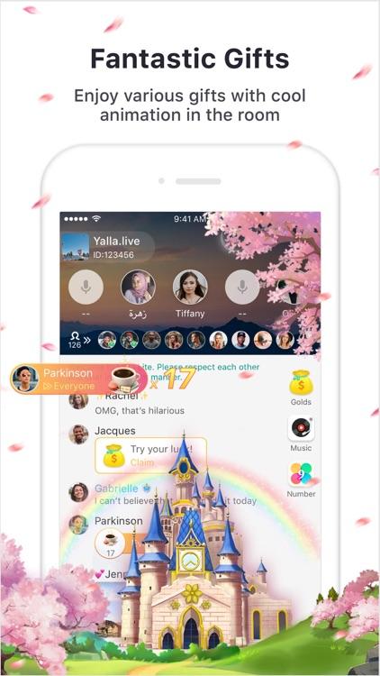 Yalla Lite - Group Voice Chat screenshot-3