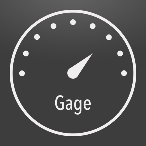Gage: Network Speed Utility