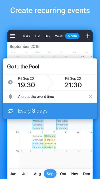 Calendars: Planner, To Do List screenshot-7