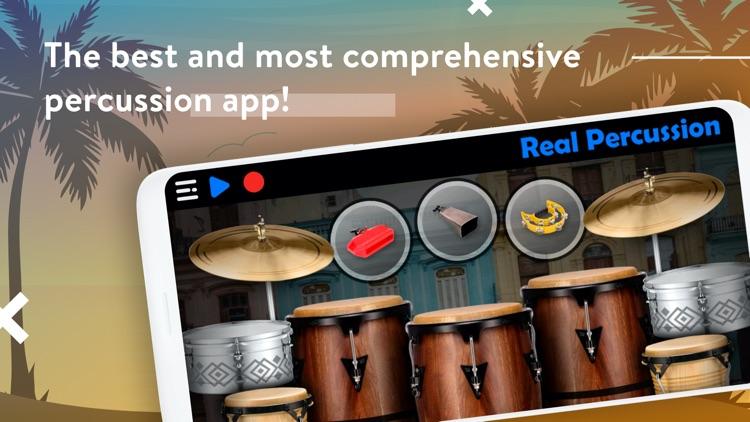 REAL PERCUSSION: Drum pads screenshot-0