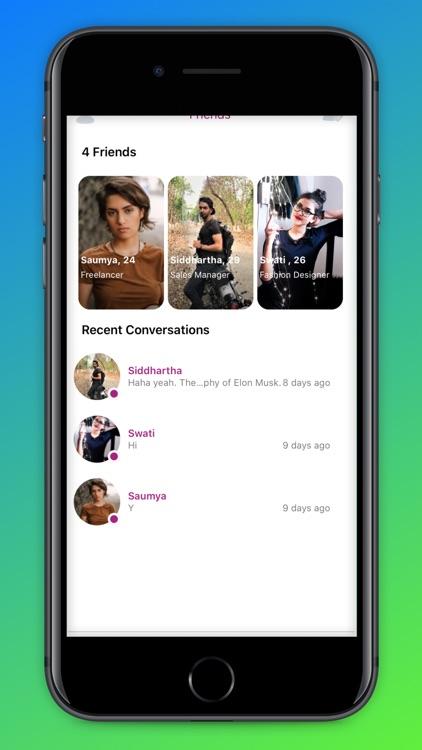 Rosate - Dating & Friends screenshot-3