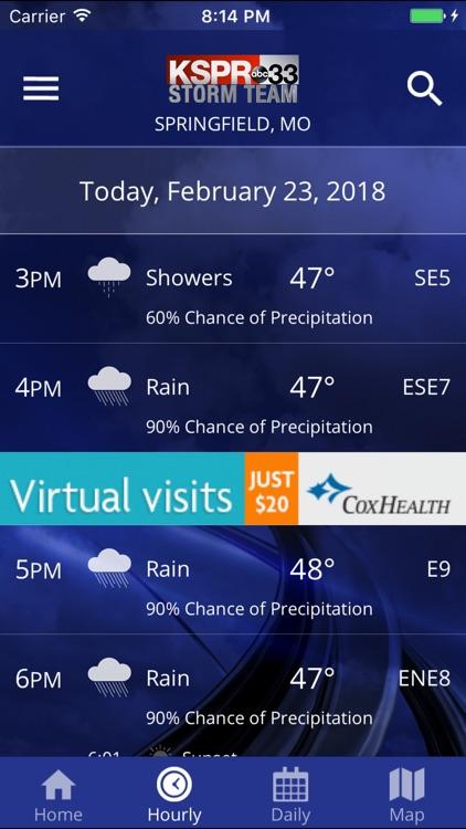 KSPR Weather by KY3 INC