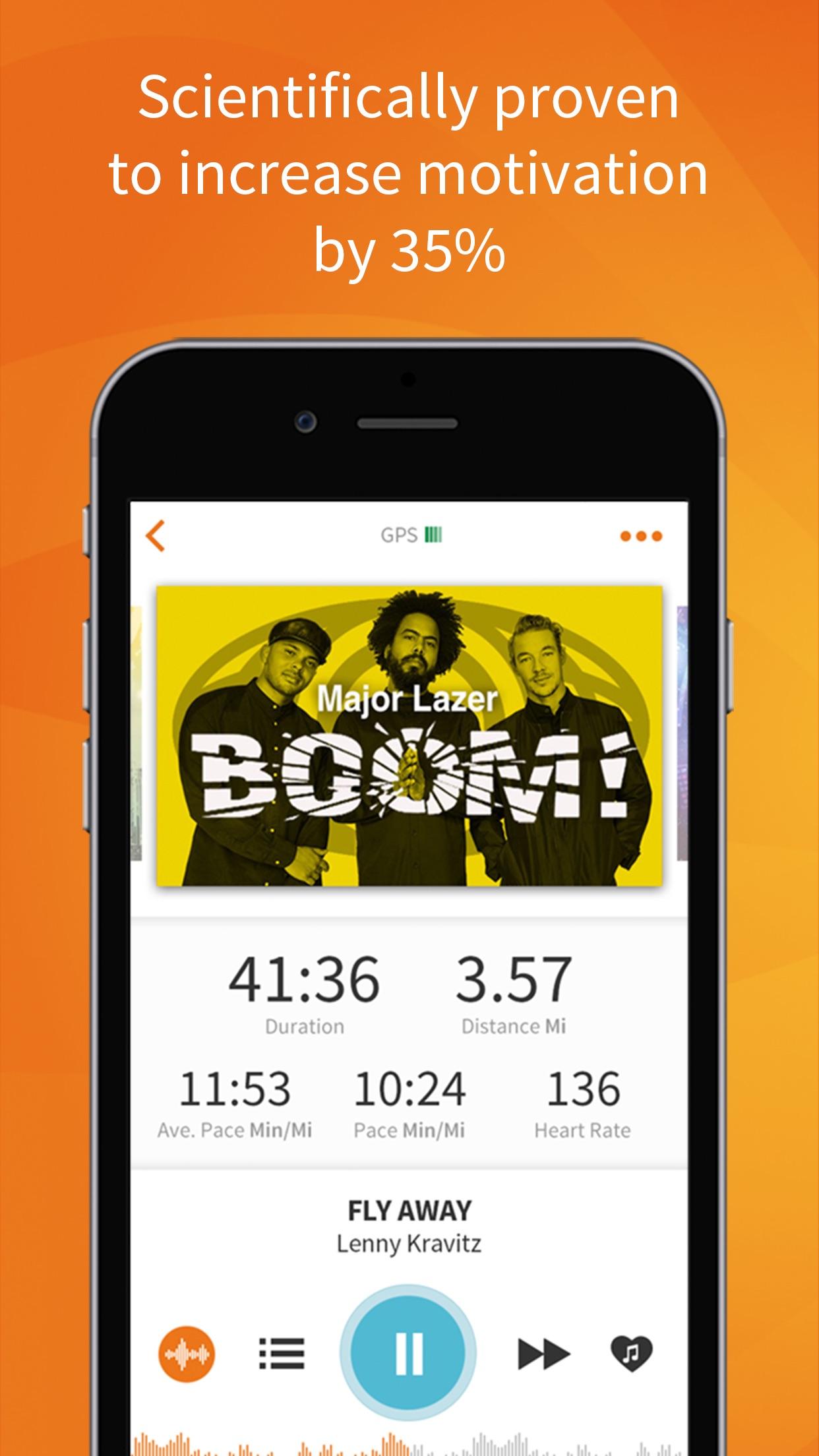 RockMyRun - Workout Music Screenshot