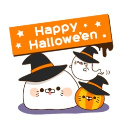 Halloween of an invective seal