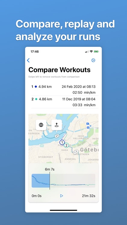 Cadence - map your workouts