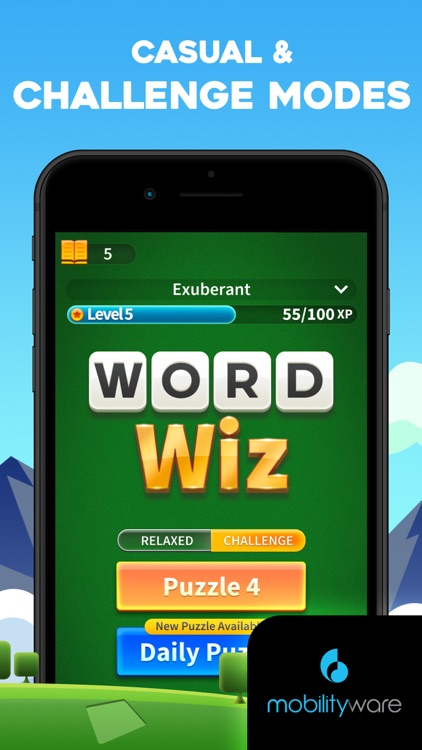Word Wiz - Connect Words Game screenshot-4