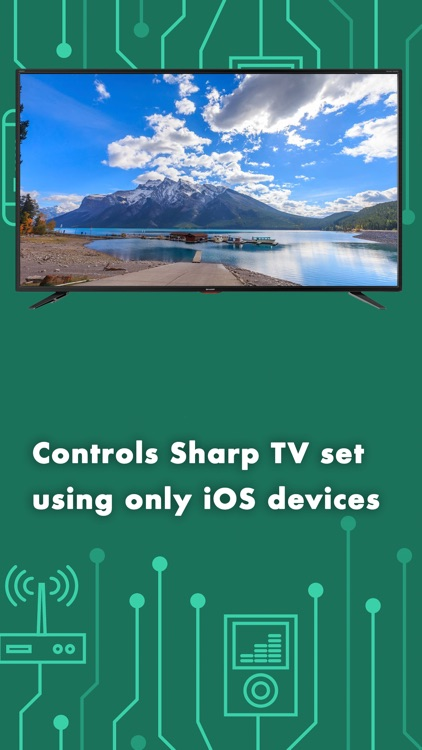 Smart Remote for Sharp TV PRO