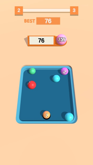 2048 Pool 3D screenshot 2