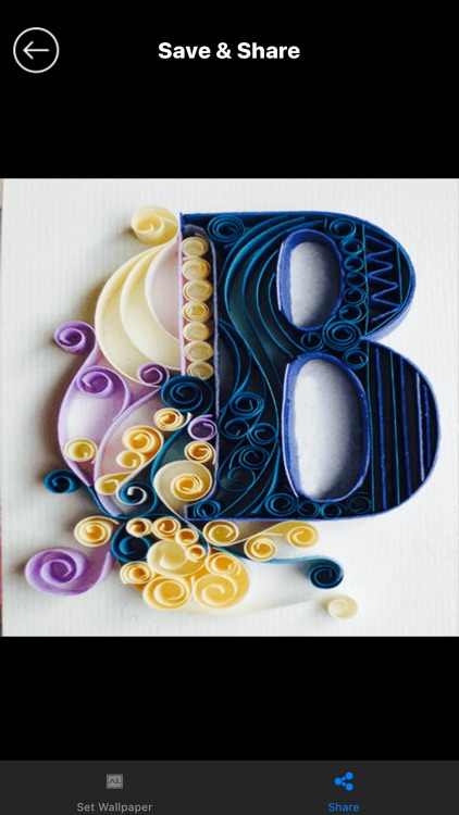 Quilling Alphabet wallpapers screenshot-3