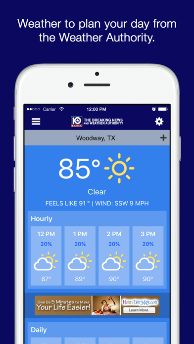 KWTX News iOS Application Version 3 2 4 - iOSAppsGames