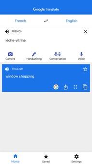 Google Translate iphone images