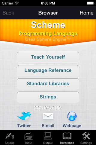 Scheme Programming Language - náhled