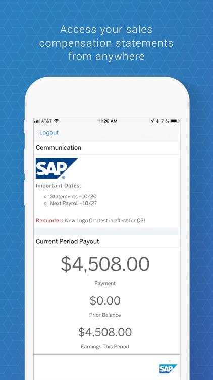 SAP Commissions screenshot-4