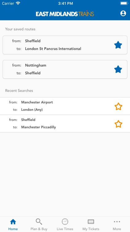 East Midlands Trains Tickets