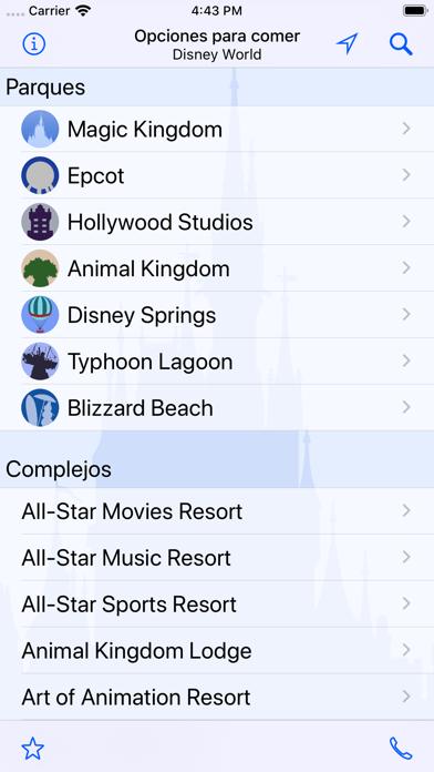 Screenshot for Dining: Disney World in Venezuela App Store