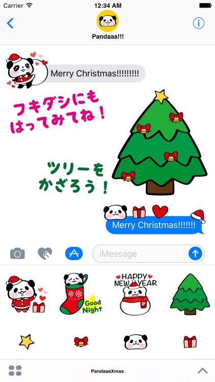 Pandaaa!!! Xmas Stickers screenshot-5