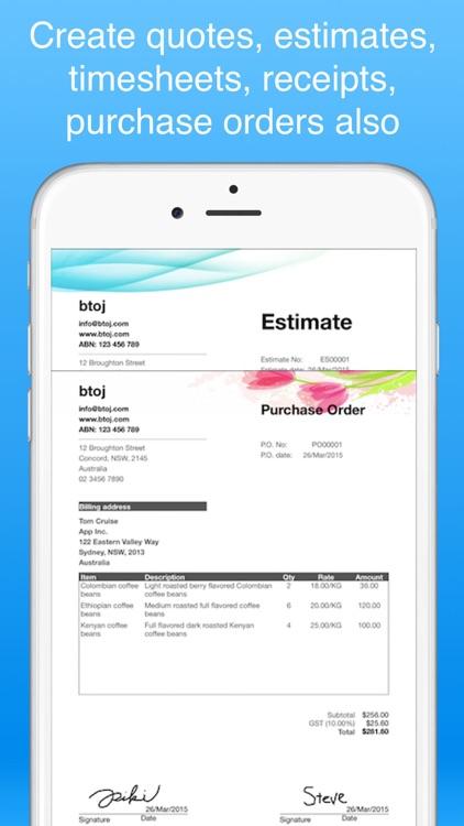 Recurring Invoices Invoice app screenshot-6