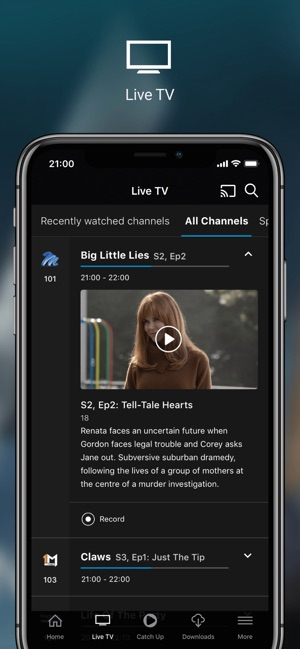 DStv Now on the App Store