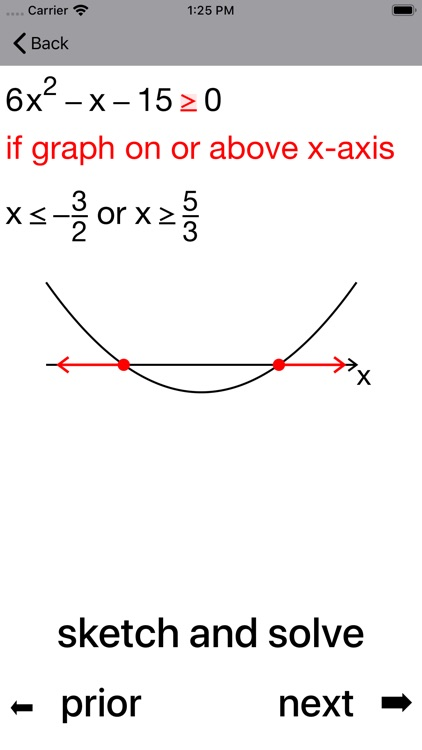 Quadratic Inequalities screenshot-8