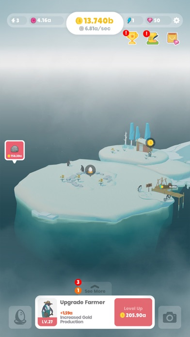 Penguin Isle screenshot 1