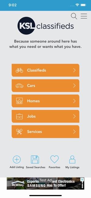 Ksl Cars Mobile >> Ksl Classifieds On The App Store