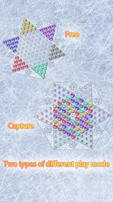 Screenshot #1 pour Realistic Chinese Checkers