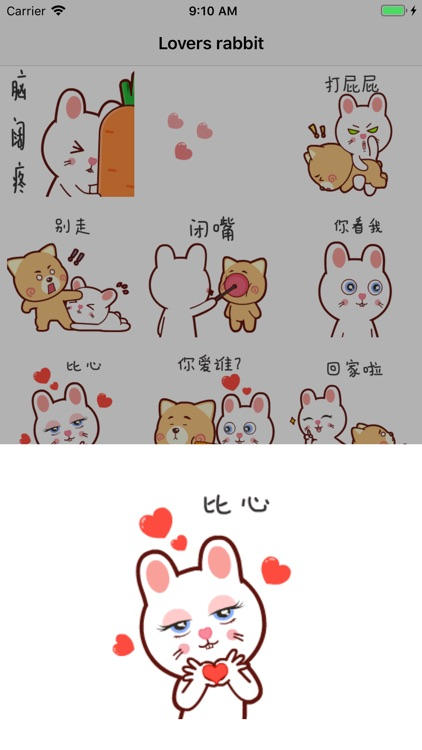 Lovers rabbit