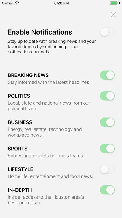 Houston Chronicle screenshot-4