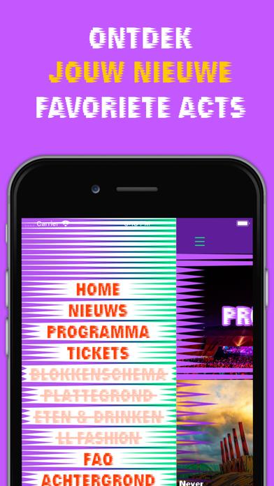Lowlands Festival 2020 iPhone app afbeelding 1
