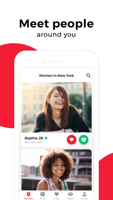 uDates: meet new people & chat Screenshot
