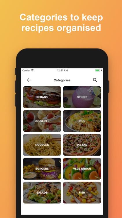 CookAid - Recipes & Nutrition screenshot-6