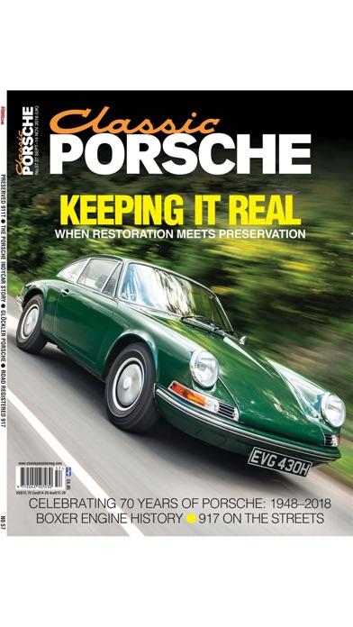 Classic Porsche Magazine Screenshot