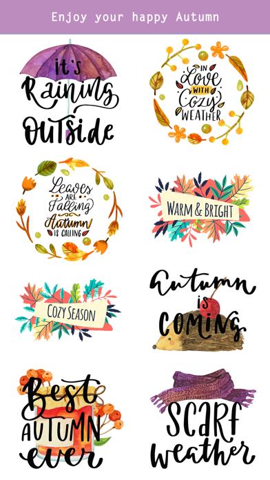 Autumn - Greetings with Animal screenshot 5