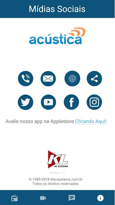 Acustica FM screenshot four