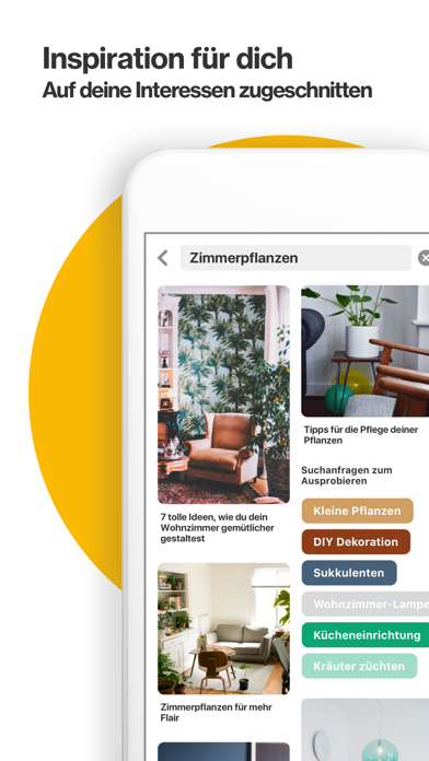 Screenshot for Pinterest in Germany App Store