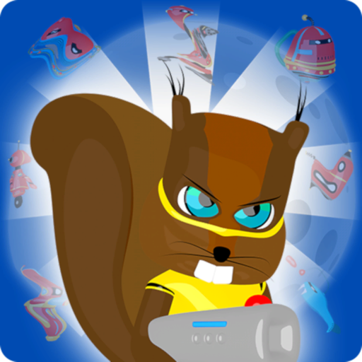 Squirrel Hero And Robots for Mac