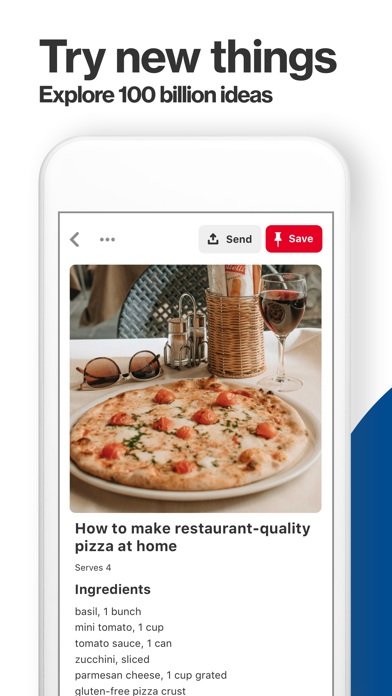 Screenshot for Pinterest in Greece App Store