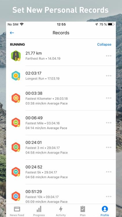 Runtastic Fitness Running App screenshot-9