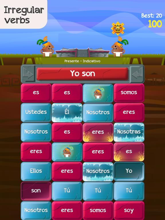 Verb Challenge Spanish screenshot 8