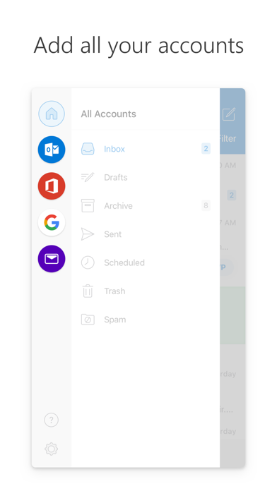 Screenshot for Microsoft Outlook in Saudi Arabia App Store