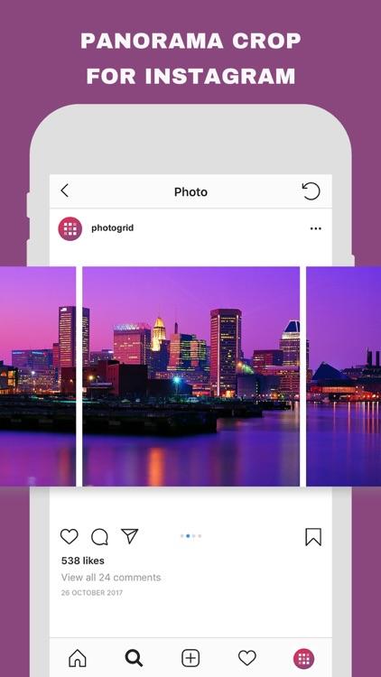 Photo Grid - Create Grids Pics screenshot-5