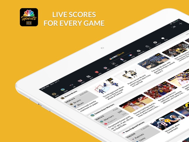NBC Sports Scores on the App Store