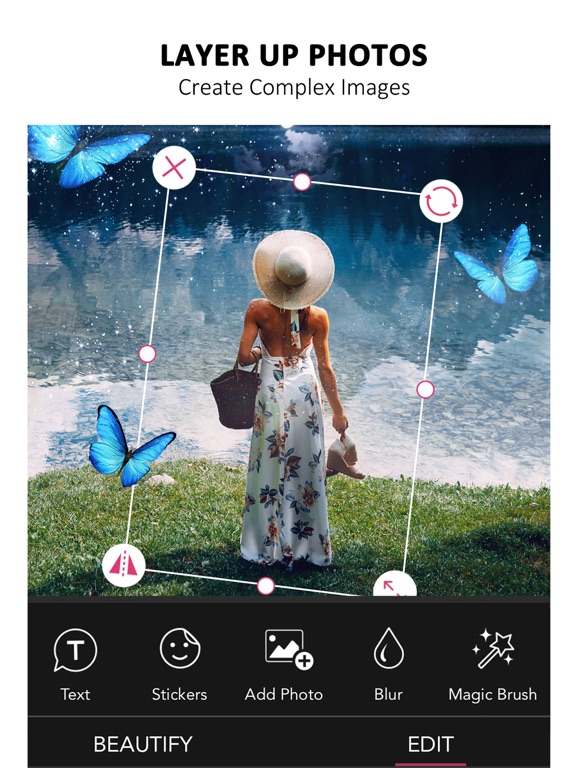 YouCam Perfect - Selfie Cam with Collages, Frames & Effects screenshot