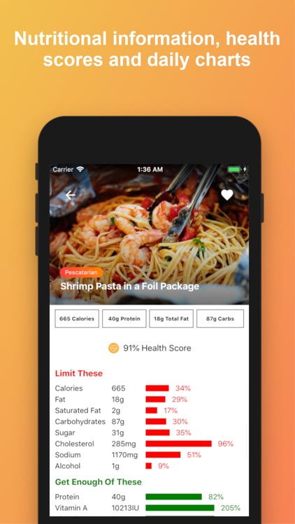 CookAid - Recipes & Nutrition